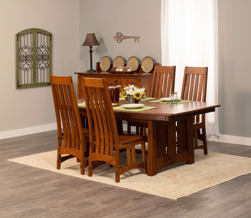 McCoy Eat Collection – Shown in Quarter-Sawn White Oak-Michaels